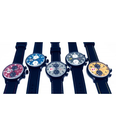 set of racing watches