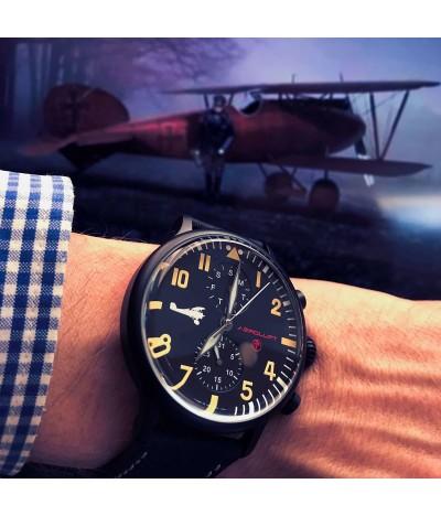 Pilot watch The Red Baron, Manfred von Richthofen