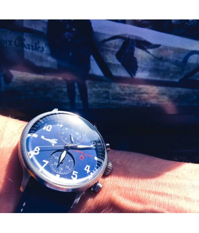 Pilot aviator watch Georges Guynemer