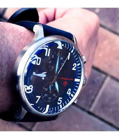 Reloj de piloto aviador Georges Guynemer