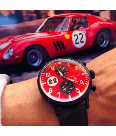 Reloj de piloto de carreras Monza