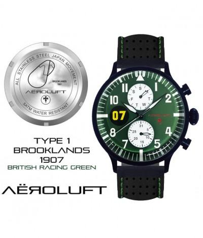 british racing green racing watch