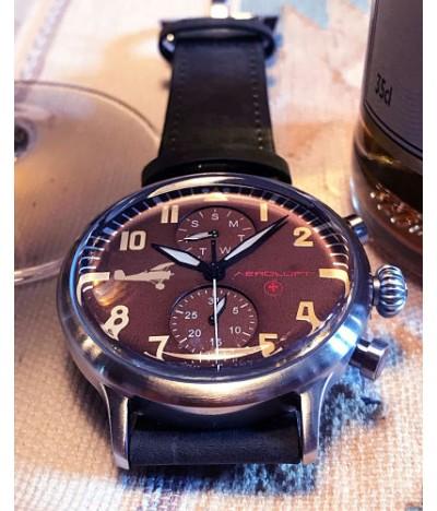 reloj de piloto aviador eddie rickenbacker