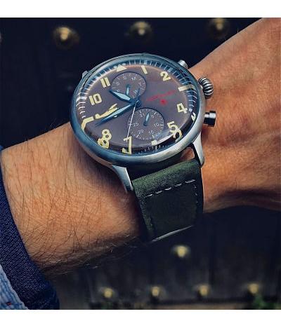 reloj de piloto avion eddie rickenbacker