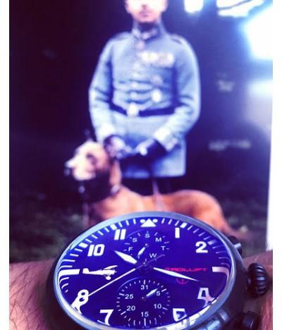 reloj de aviador max immelmann