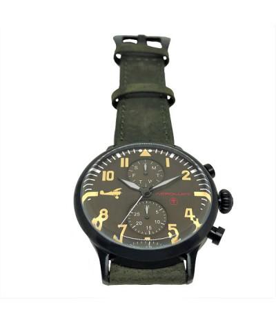 reloj de piloto aviador aleman werner voss