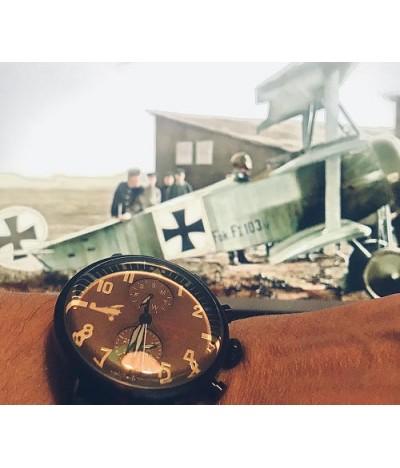 reloj de piloto de avion aleman werner voss