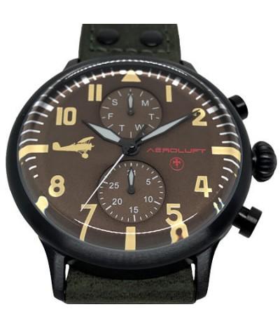 reloj de piloto de caza aleman werner-voss