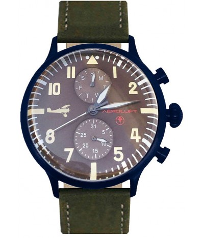 reloj de piloto werner voss